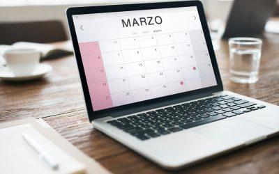 Calendario del contribuyente – Marzo 2021